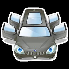 【無料スタンプ】BMW アクティブツアラー スタンプ