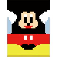 ディズニー8bit