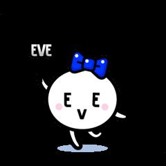 【無料スタンプ】ようせいイブちゃん by EVE