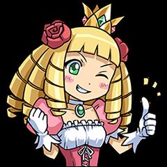 【無料スタンプ】ケリ姫スイーツ