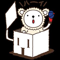 【無料スタンプ】ラム君(旭化成ホームズ)