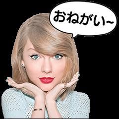 【無料スタンプ】テイラー・スウィフト