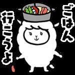 【無料スタンプ】15周年記念「なべパカ」スタンプ♪