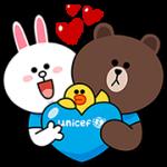 【無料スタンプ】LINE x UNICEF スペシャルエディション