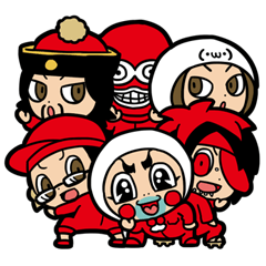 【LINEスタンプ】仙台貨物