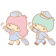 【LINEスタンプ】キキ&ララ トゥインクル♪アニメスタンプ