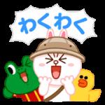 【無料スタンプ】LINE バブル2