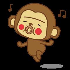 【LINEスタンプ】たらこ唇なモンちぃ