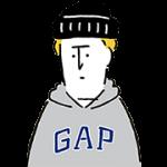 【無料スタンプ】GAP日本上陸20周年記念スタンプ