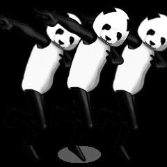 【LINEスタンプ】むしろパンダさん