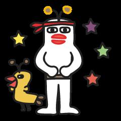 【LINEスタンプ】むーたーズ3 (大運動会)