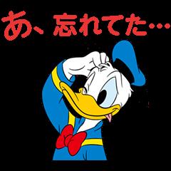【LINEスタンプ】しゃべって動く!ドナルドダック