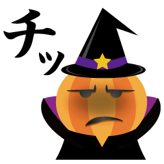【LINEスタンプ】ハロウィンのドタバタパーティー!