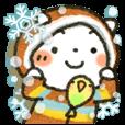 【LINEスタンプ】冬にやさしいスタンプ