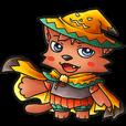 【LINEスタンプ】お祭りちゃんの奇想世界5