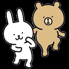【LINEスタンプ】うーくま2
