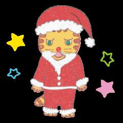 【LINEスタンプ】玄関ねこ 〜クリスマス&お正月編〜