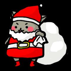 【LINEスタンプ】ほぺにゃん(クリスマス&お正月編)