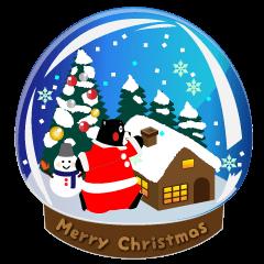 【LINEスタンプ】くまモンのスタンプ(クリスマス)