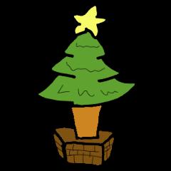 【LINEスタンプ】クリスマスイブ専用スタンプ