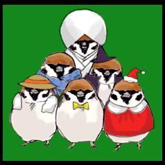 【LINEスタンプ】マイペースな小鳥 (イベント)