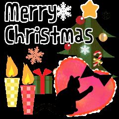 【LINEスタンプ】大人のクリスマス(冬~年末)セット