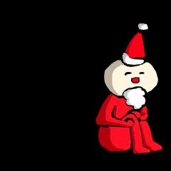 【LINEスタンプ】寂しい人用クリスマススタンプ