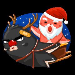 【LINEスタンプ】卓クリスマスの楽しみ