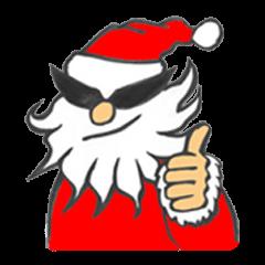 【LINEスタンプ】ワイルドクリスマス