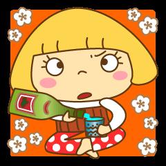 【LINEスタンプ】関西弁でいきまっせ~大人女子はなちゃん