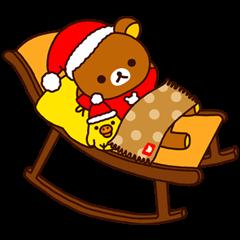 【LINEスタンプ】リラックマ Xmas&Holiday