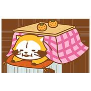 【LINEスタンプ】WINTER☆ラスカル