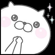 【無料スタンプ】ぬこ、ところによりピヨ&GU