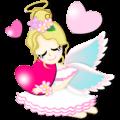 【LINEスタンプ】天使より愛を込めて
