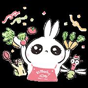 【無料スタンプ】開店!うさぎたんレストラン