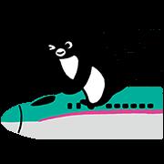 【無料スタンプ】Suicaのペンギン