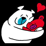 【無料スタンプ】クマの親子♪タッフィー&ハッピー☆