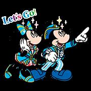 【無料スタンプ】東京ディズニーシー 15周年記念スタンプ