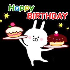 【LINEスタンプ】父の日 * 母の日 * 誕生日 ありがとう♪