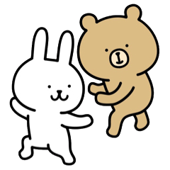 【LINEスタンプ】うーくま4