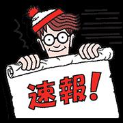 【無料スタンプ】選べるニュース×ウォーリーをさがせ!