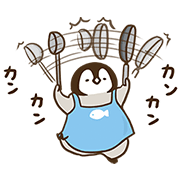 【無料スタンプ】ねこぺん日和~住まい篇~第2弾