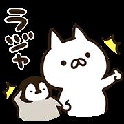 【無料スタンプ】キリン×ねこぺん日和 コラボスタンプ
