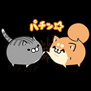 【無料スタンプ】ボンレス犬猫×便利アカウント