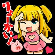 【無料スタンプ】LINE バブル2×デスノート