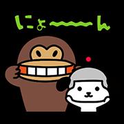 【無料スタンプ】けんさく と えんじん 2