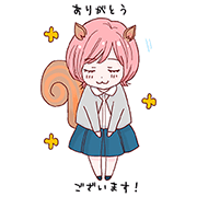 【無料スタンプ】文学処女