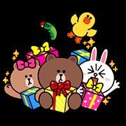 【無料スタンプ】LINE Characters sith LINE SMART PARTY