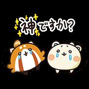 【無料スタンプ】しろたさんとれさ丸7【赤ちゃん編】