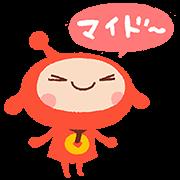 【無料スタンプ】アキンド星のリトル・ペソスタンプ